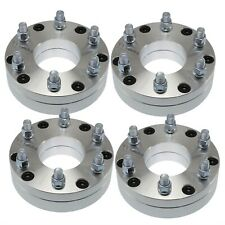 "4x 2"" 5x5 to 6x5.5 HUBCENTRIC Wheel Adapter for Chevy 5 Lug adapter 6 Lug Wheels"