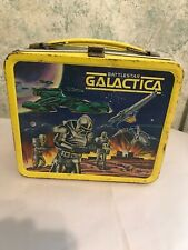 VINTAGE 1978 BATTLESTAR GALACTICA LUNCHBOX AND THERMOS