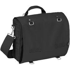 Brandit Large Cotton Canvas Army Bag Travel Camping Security Shoulder Pack Black