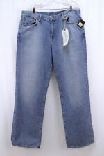 NEW mens light wash LUCKY BRAND jeans straight leg 165 relaxed fit 40L 40 x 35