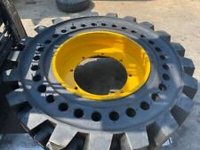 "24"" INCH SOLID TYRE AND WHEEL ASSEMBLY FOR A VICTORY LOADER - BRAND NEW SET OF 4"