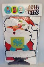 Mid Century Vintage Gag Tags Papercraft Christmas Giant Gift Tags Decoration NIP