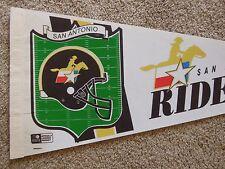 San Antonio Riders World Football League Full Size 30 Inch Pennant WFL