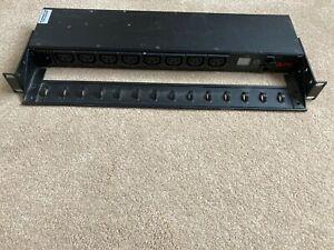 APC AP7920 8 Port Rackmount Switched PDU with Rack Mounts
