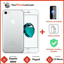  APPLE IPHONE 7 256GB PLATA 1 AÑO DE GARANTÍA GRADO B 