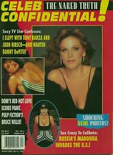 CELEB CONFIDENTIAL MAGAZINE THE NAKED TRUTH MADONNA, DEMI MOORE, BRUCE WILLIS
