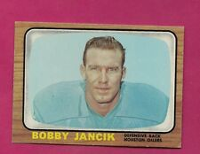 1966 TOPPS # 58 OILERS BOBBY JANCIK NRMT CARD (INV# A4956)