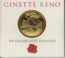 GINETTE RENO Un Grand Noel D'Amour (CD 2000) French Quebec Christmas Canada Digi