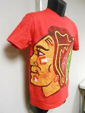 NEW-MENDED NHL Chicago Blackhawks YOUTH Medium M 10/12 Shirt