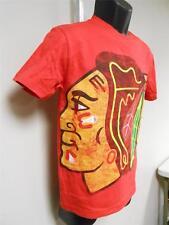 NEW-MENDED NHL Chicago Blackhawks YOUTH Medium M 10/12 Shirt