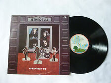 JETHRO TULL ~ BENEFIT ~ EX+/VG ~ RARE '72 UK PINK RIM VINYL LP ~ VERY NICE AUDIO