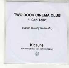 (EN358) Two Door Cinema Club, I Can Talk - 2010 DJ CD