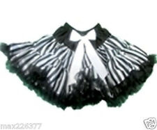 New Halloween pettiskirt Pirate stripes skirt costume tutu 10 - 12 years girl