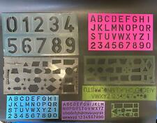 Circle Plastic Oval Rulers Digital Drawing alphabet ABC school supplies