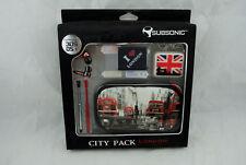 Coffret CITY PACK London pour Nintendo 3DS ! (ou Dsi) : housse de protection...