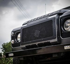 Land Rover Defender Stainless Steel Stealth Front Grille - Uproar 4x4