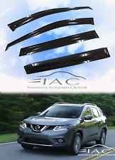 Window Visor for Nissan Xtrail X-Trail Rogue 2014-2018 Rain Guard Weather Shield