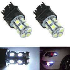 2x T25 13-LED 3157 5050 SMD Super White Stop Tail Brake Turn Car Light Bulb Lamp