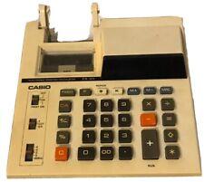 Casio FR-101 Printing Display Calculator Desktop Vintage + AC Adaptor AD-4150