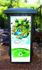 Reduce and reuse earth wheelie bin sticker