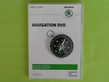 DVD NAVIGATION CY EUROPA WEST 2017 V14 SKODA SUPERB OCTAVIA 1Z YETI VW RNS 510