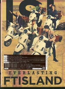 Ftisland-Everlasting (Typ A) - Japan CD+DVD Ltd / Ed K81