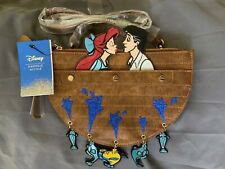 Danielle Nicole x Disney Little Mermaid Kiss The Girl Crossbody Bag Ariel & Eric