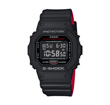 CASIO Uhr Watch G-Shock Black & Red Serie - DW-5600HR-1ER NEU