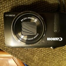 Canon PowerShot SX280 HS 12.1MP Digital Camera -Black- 8GB SD Card CASE included
