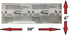 """Patch BANDE PVC/TPU Patch de réparation 30"""" X 6"""" - - Tear Aid Type B équivalent - -"""