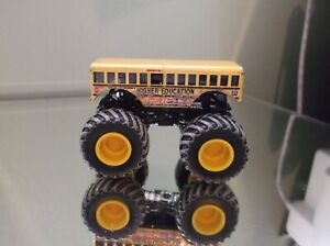 Hot Wheels Monster Jam Truck 1/64 Diecast Mud Treads Higher Education Cool Bus