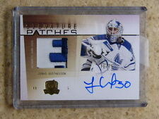 09-10 The Cup Signature Patches JONAS GUSTAVSSON RC /75