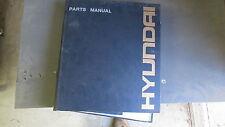 HYUNDAI 170W-3 WHEELED EXCAVATOR PARTS MANUAL PART# 91EK-30030-05
