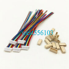 Mini Micro JST SH 1.0mm 8-Pin JST Connector with Wires Cables 100MM x 10 sets