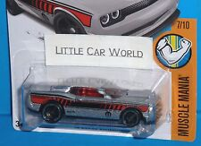 2017 HOT WHEELS '15 Dodge Challenger Col. #48/365 2015 MUSCLE MANIA