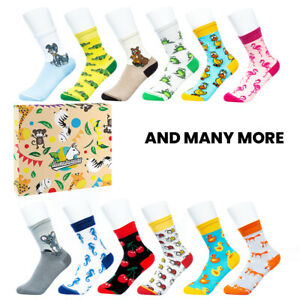 llamabanana® Kids Socks in Box Girls Boys Crew Socks Premium Quality Cotton