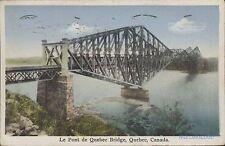 CANADA QUEBEC LE PONT DE QUEBEC BRIDGE LIBRAIRE GARNEAU
