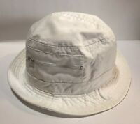 J-Hats Whit Bucket Fisherman's Hat With Zipper Pockets One Size