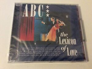 A B C  THE LEXICON OF LOVE  CD ALBUM NEW AND SEALED F1