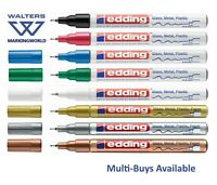 Edding 780 Extra Fine Paint Marker Pen, 0.8mm Nib, Glass Metal Stone Waterproof