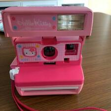 Hello Kitty Polaroid 600 Instant Camera Pink Limited Sanrio F/S Used