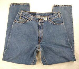 Vintage Levis 560 34x32 Loose Fit Tapered Leg Blue Jean USA 100% Cotton Denim