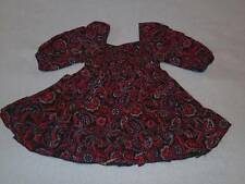 H & T Gorgeous Little Girls Shirred Paisley Print Top, Size 1