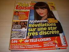 TELE LOISIRS 1446 11.2013 NOLWENN NABILLA ESPRITS CRIMINELS X-MEN LOUVRE à LENS
