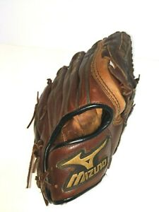 Mizuno Left Hand Dark Brown Professional Model GSL 1225 Baseball Glove 12.25 in