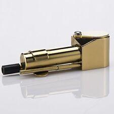 Brass Proto Tobacco Smoking Pipe Ashtray Tar Trap Chamber Storage Cylinder