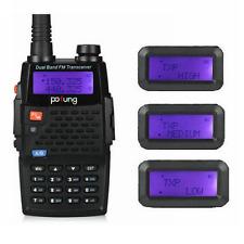 New BaoFeng F9+TP Dual Band 1/4/8W Ham Walkie Talkie FM HP Two-way Radio > F8+HP