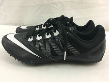 NIKE Men's ZOOM RIVAL S7 Black/White 616313-001 Track&Field Spikes Size 11 US