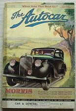 The AUTOCAR Magazine 10 July 1936 Supercharged Graham & Triumph Vitesse Tested