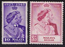 1948 Kedah - Sg N° 70/71 Set Of 2 MNH